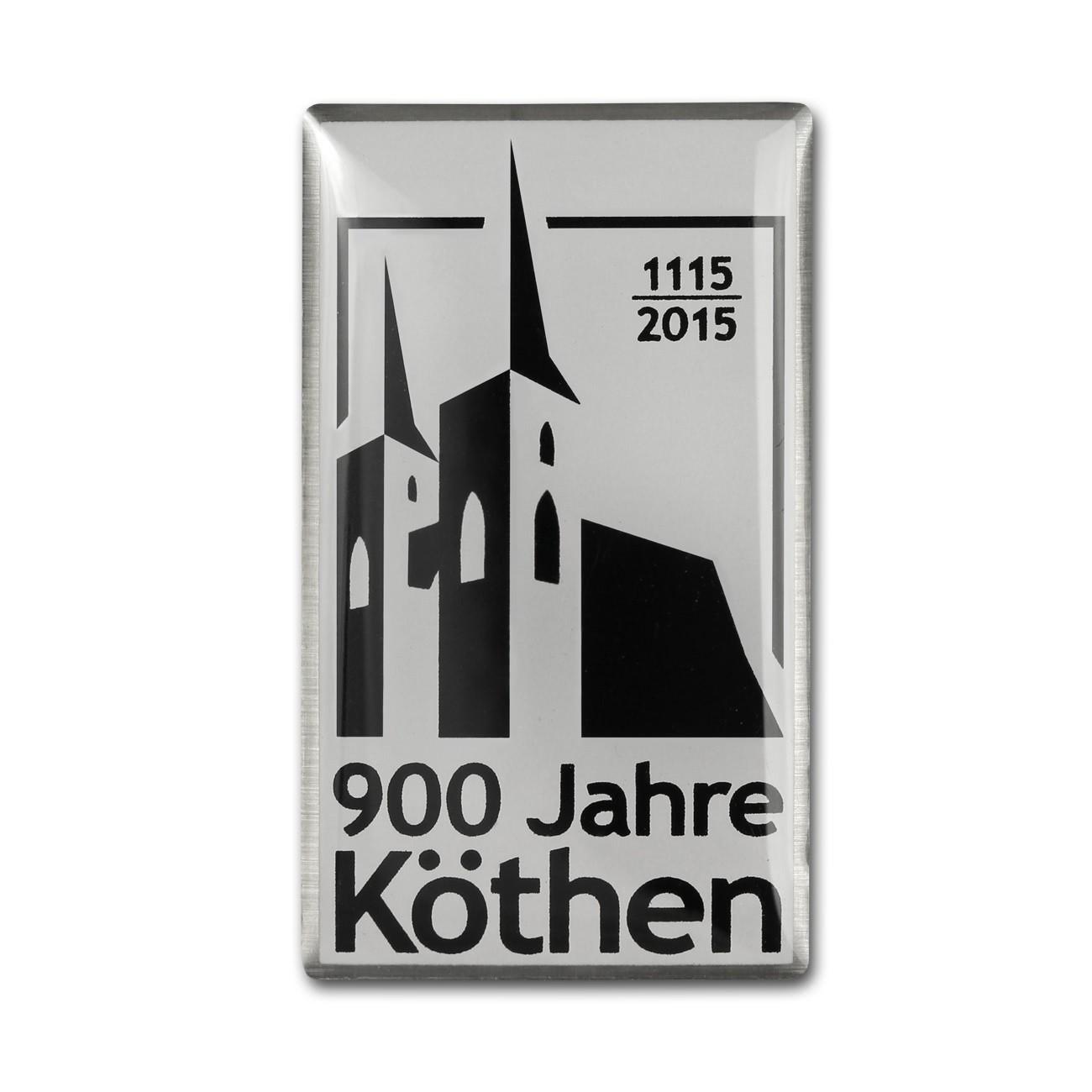 Pin - Köthen 900 - Metall Anstecker KOK02S