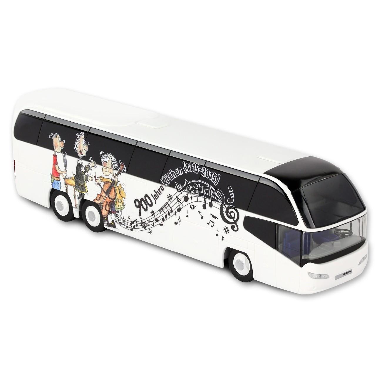 Reisebus - 900 Jahre Köthen - Dobo-Musiker - Spielzeug Modell Bus KOK61W