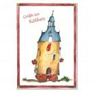 Postkarte aus Köthen mit Magda zum Sammeln oder Verschicken KOM047