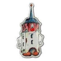 Pin - Hallescher Turm Köthen - Halli - Metall Anstecker KOK01F