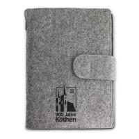 Notizheft Filzbuch - 900 Jahre Köthen - Filz-Buchhülle KOK91K