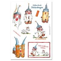 Stickerbogen mit Halli, Magda, Jakob und Kuh-Köthen KOM05F