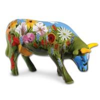 Design Kuh mit Blumenwiese 10cm Köthen Kuhparade KOS103