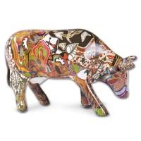 Design Kuh mit Afrikanischem Design 10cm Köthen Kuhparade KOS106