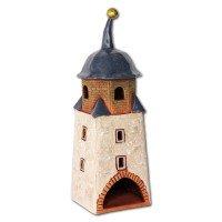 Hallescher Turm Köthen - Halli - Lichthaus original LeuchtKeramik KOM01N