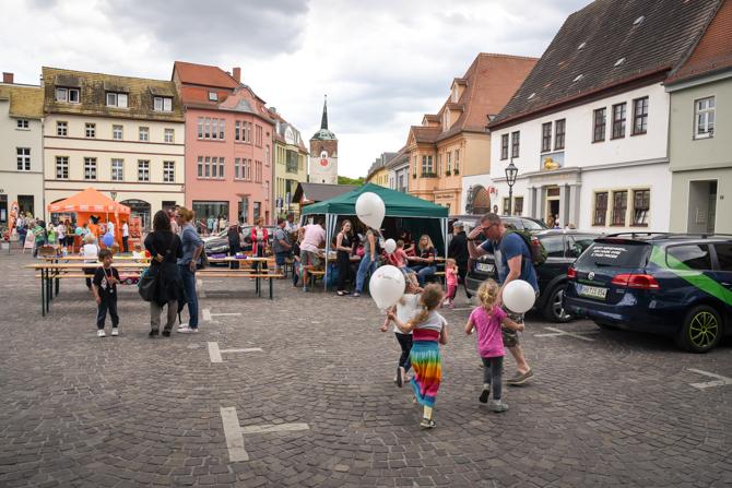 Citylauf Marktplatz