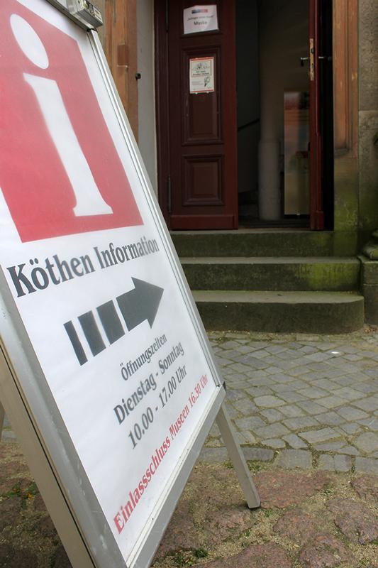 Eingang der Köthen Info