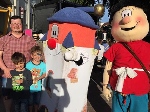 Foto mit Halli und Dobo