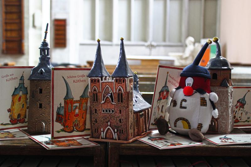 Souvenirs in der Jakobskirche