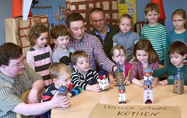 Stadttürme für die Kindergarten Kinder