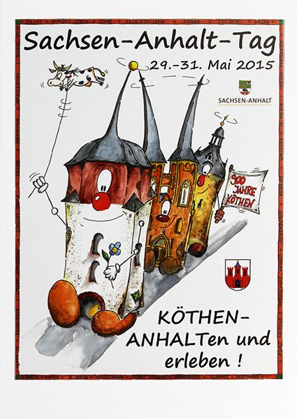 Plakat Sachsen-Anhalt-Tag 2015