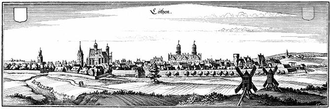 Stadtmauer Köthen