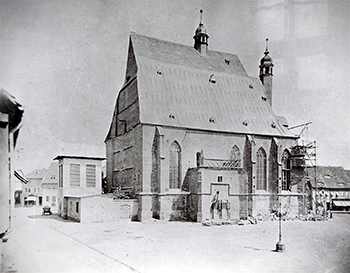 Bau der Jakobskirche